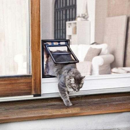 Beroemd Een hordeur met kattenluikje voor de kat? - Vliegengordijnkopen HO54